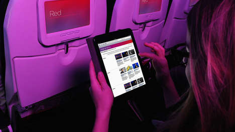 In-Flight Music Apps - Spotify & The New York Times are Now Available on Virgin America Flights
