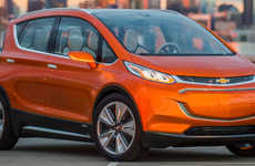Eco-Friendly Car Collaborations - The Chevrolet Bolt will be Created with LG Electronic Parts