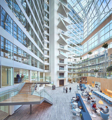 Intuitive Office Buildings - This Building Anticipates the Needs of Each Employee