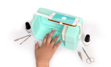 Nail-Painting Robots - This Miniature Smartphone-Connected Bot Creates Professional, Easy Nail Art