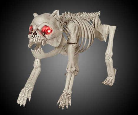 Spooky Skeletal Canines
