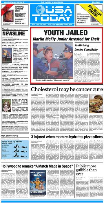 Movie-Themed Newspapers