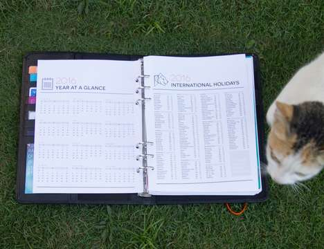 Goal-Oriented Journals - The Goal Tiger Productivity Planner Lets You Plan Out Your Success Strategy