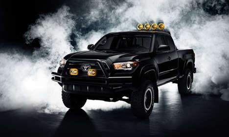 Futuristic Movie-Inspired Trucks