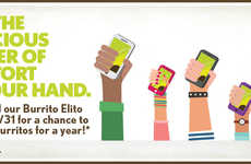 Lunch Loyalty Apps - California Tortilla's Burrito Elito App Offers Points for Every Dollar Spent