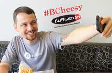 Fast Food Photo Contests - Burger 21 Offers Free Cheeseburgers to Loyalty Club Members