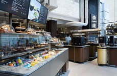 "Upscale Coffee Bars - This Starbucks Location Acts as ""Coffee Theater"" for the Beloved Coffee Brand"
