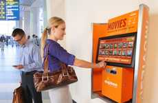 Airport Movie Kiosks - Digiboo Offers Fast Film Downloads For Jet-Setting Travelers