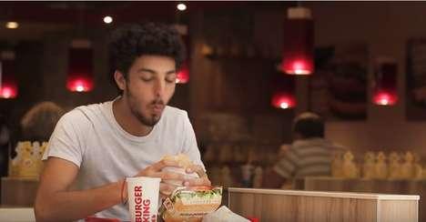 Burger Giveaway Stunts