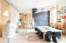 Child-Oriented Cafes - The '28 For' Coffee Shop Features Children's Play Areas & Walls to Draw On
