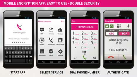 Mobile Encryption Apps - This T-Systems App Protects Cell Phone Calls and Text Messages