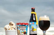 Ale-Inspired Ice Creams - This Frozen Treat is Inspired by a Sweet Brown Ale