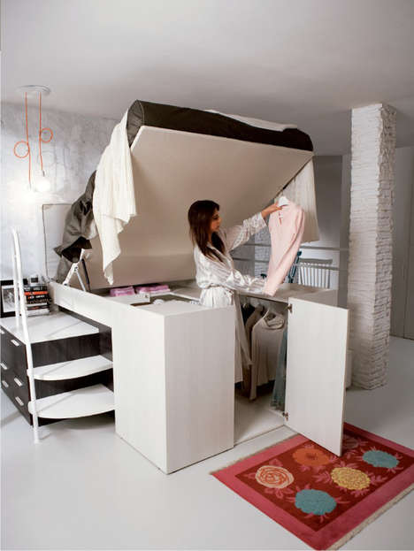 Hybrid Bed Closets