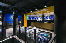 Futuristic Soccer Stores - The Chelsea FC Megastore Combines the Team's History with the Future