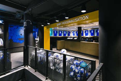 Futuristic Soccer Stores