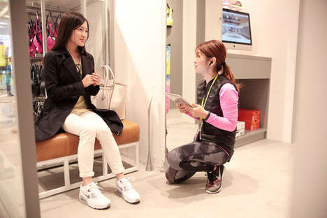 Female-Focused Athletic Retailers - 'Nike Kichijoji' Provides Personalized Services for Women