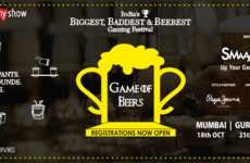 Beer Gaming Festivals - This Indian Entertainment Venue Will Host a Beer Gaming Competition