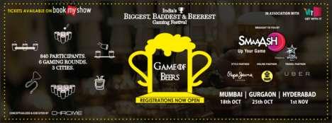 Beer Gaming Festivals