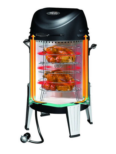 High-Tech BBQs - The Char-Broil Infrared Smoker Lets You Cook Faster and More Efficiently