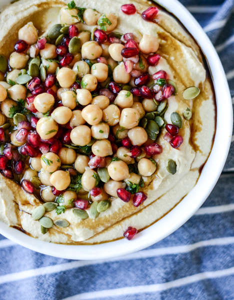 Fall-Flavored Hummus Recipes