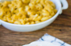 Pumpkin Mac and Cheese - This Pumpkin and Goat Cheese Macaroni Recipe Features Fall Flavors
