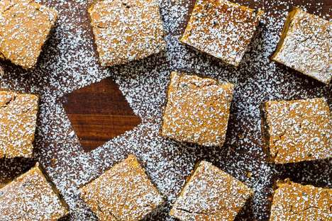 Pumpkin Black Sesame Squares