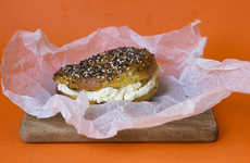 Savory Autumnal Bagels - The Sugar Hit's Pumpkin Everything Bagel Puts a Fall Twist on a Classic