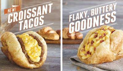 Croissant Taco Shells