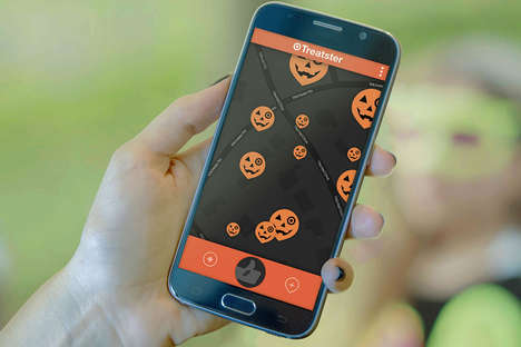Candy-Finding Apps - Target's 'Treatster' Candy App Highlights the Best Houses for Trick-or-Treating