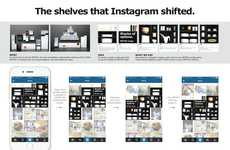 Social Shelving Campaigns - This Inventive Instagram Idea Cleverly Uses the Photo Grid