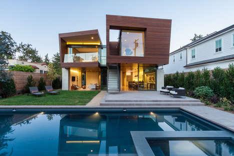 Cartoonishly Stacked Houses