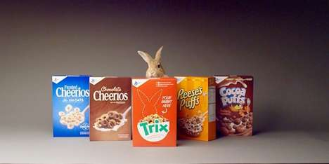 Mascot-Seeking Cereal Campaigns - The New Trix Campaign is Looking for a Fresh Brand Representative