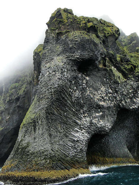 Drinking Elephant Sculptures - This Rock Sculpture in Iceland Attracts Visitors to the Island
