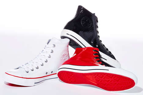 Glossy Classic Sneakers