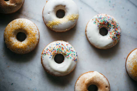 Glazed Apple Cider Donuts - This Seasonal Dessert Recipe Makes an Autumnally Appropriate Treat