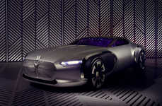 Architect-Honoring Luxury Cars - The Renault Coupe Corbusier Pays Tribute to a Famous Designer