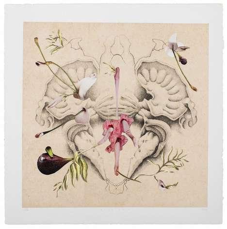 Botanical Body Organ Art