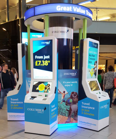 Airport Insurance Kiosks - This Airport Kiosk Allows Travelers to Get Insured Right Before a Flight