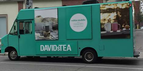 Mobile Tea Trucks - This David's Tea Shop on Wheels Drives Around and Doles Out Tea Samples
