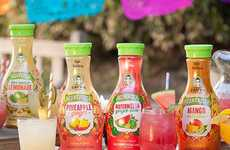 Naturally Sweetened Mexican Juices - These Fruit Juices are Inspired by a Popular Mexican Beverage