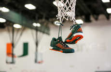 Branded B-Ball Sneakers - The Hurricanes' New adidas Basketball Uniforms Feature Crazylight Boosts