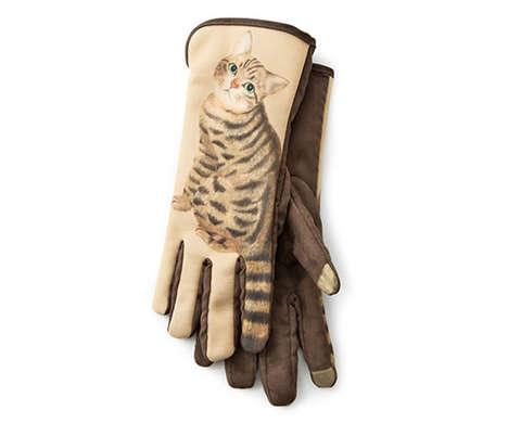 Feline Texting Gloves