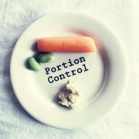 Blunt Portion Control Plates