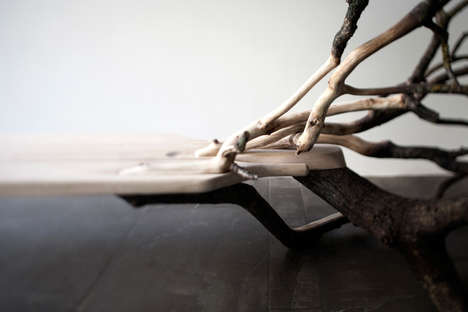 Sculptural Woodland Benches