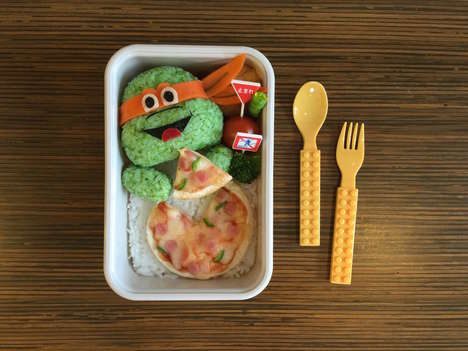 Anime Bento Lunches - These Homemade Bento Boxes Turn Pop Culture Characters into Food