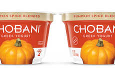 Spiced Gourd Yogurts - The Chobani Greek Yogurt Cups are Available in a Fall Pumpkin Flavor