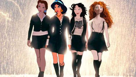 Horror Film Disney Characters