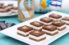 Boozy Layered Jelly - These Alcoholic Jello Squares are S'more-Flavored and Contain Caffeine
