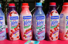 Organic Kefir Drinks - This Fermented Beverage Provides a Healthy Dose of Protein