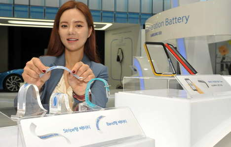 Contouring Flexible Batteries